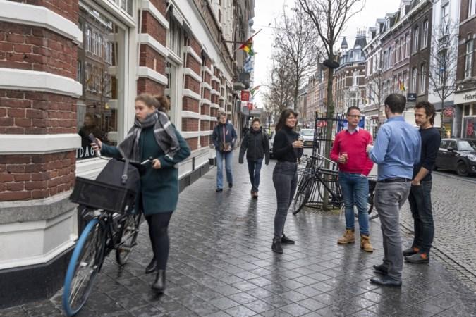 In Maastricht moet staand drinken op een horecaterras weer mogen