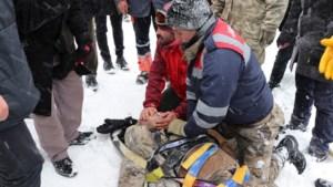 Tientallen doden door lawine in oosten van Turkije