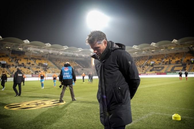 Onvermijdelijk ontslag voor Roda-coach De Jong na zeven turbulente maanden