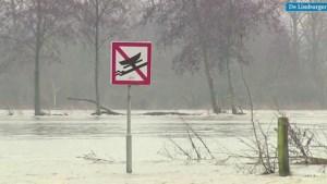 Video: Hoogwater zorgt plaatselijk voor wat overlast