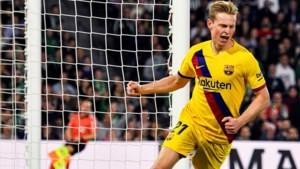 Frenkie de Jong laat scorend vermogen zien bij Barcelona