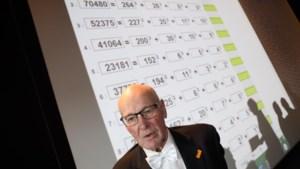 Rekenwonder (80) pakt wereldrecord op TU/e: 'Als ik een getal zie dan moet ik er mee aan de slag'