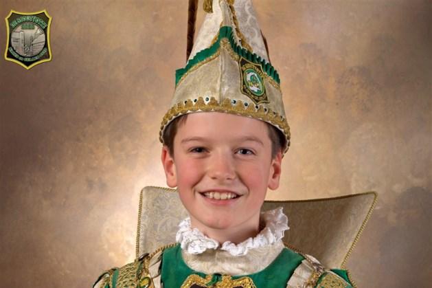 Robin I is jeugdprins van de Sjoutvotte in Geleen-Zuid