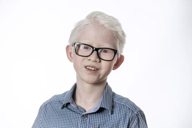 Yun Laeven (11) uit Gulpen heeft albinisme