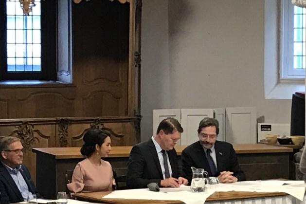 Harry Leunessen geïnstalleerd als burgemeester van Vaals.