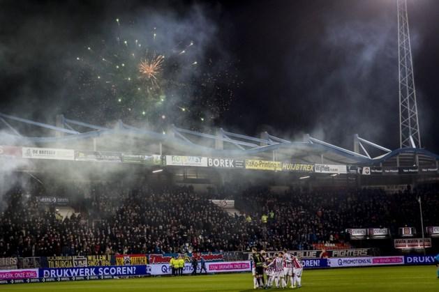 Geldboete voor Fortuna Sittard wegens afsteken vuurwerk in Tilburg