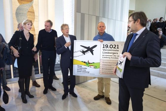 Verdwenen doos met handtekeningen tegen uitbreiding MAA nu in Den Haag