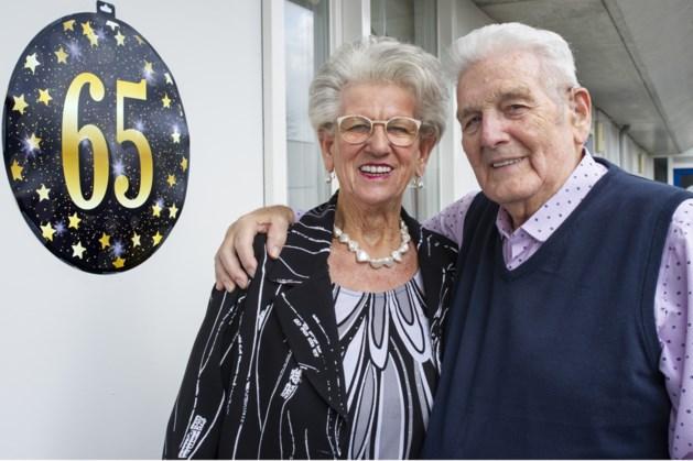 Leo en Nettie Lataster-Schmitz uit Kerkrade vieren 65-jarig huwelijk