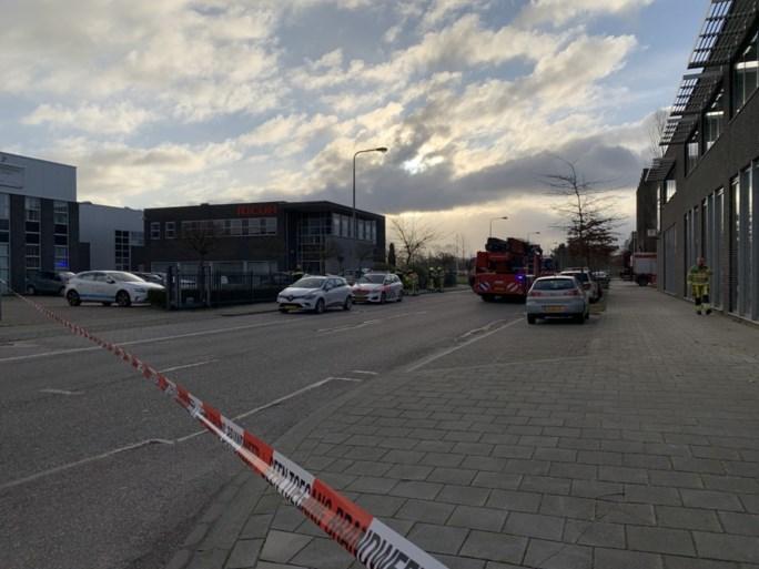 Video: Bombrief ontploft bij bedrijf in Kerkrade