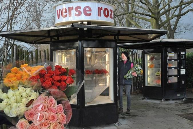 Liefde is… een bos rozen uit de automaat in Grubbenvorst met Valentijnsdag