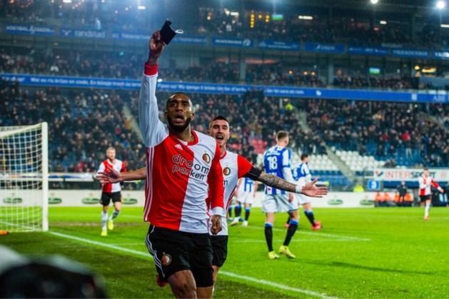 Feyenoord ten koste van Heerenveen naar halve finale