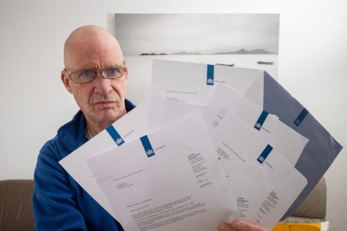 Belastingdienst blundert: Herman krijgt twaalf brieven die voor anderen zijn bedoeld