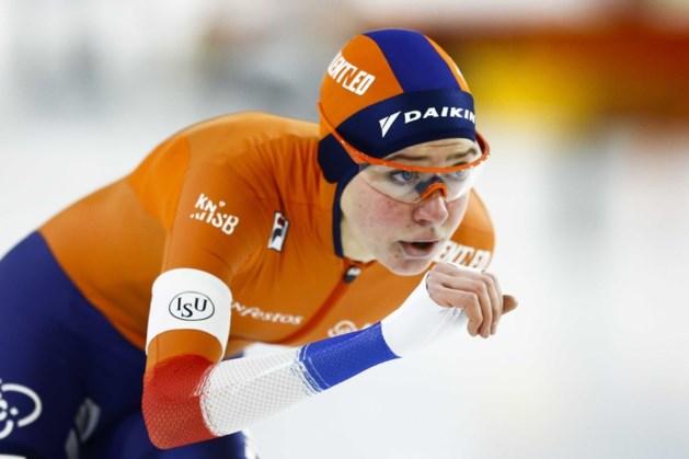 Zesde wereldtitel Sablikova op 3000 meter, zilver Achtereekte