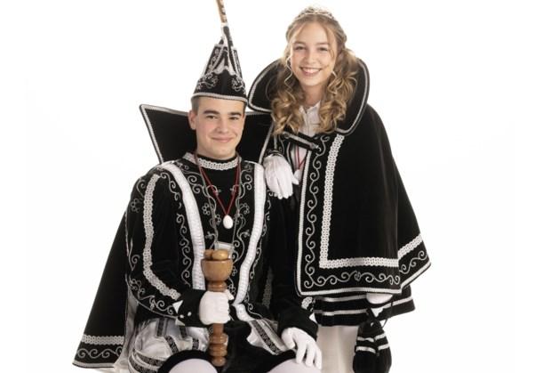 Chris van Cruchten en Kyara Cox prinsenpaar Doale-Eier