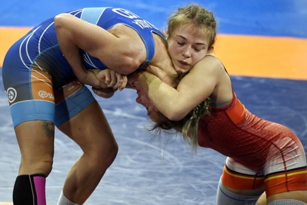Worstelaarster Jessica Blaszka grijpt naast goud op EK