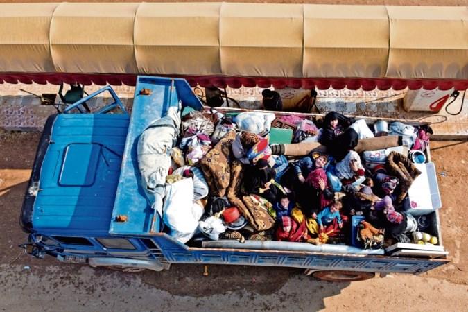 Exodus door oplaaien geweld in Idlib