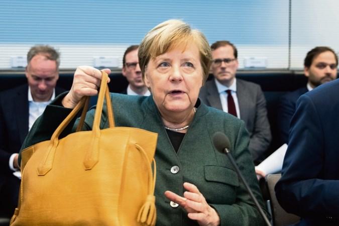 'Angela Merkel kan haar ambtstermijn, die in 2021 afloopt, onmogelijk nog uitzitten'