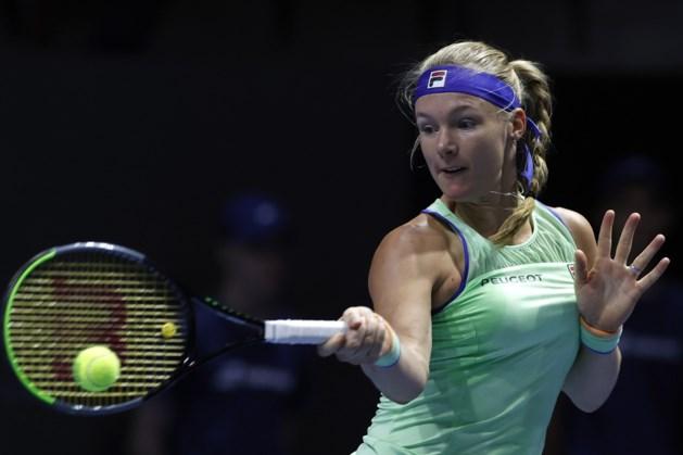Tennisster Bertens laat duel met Clijsters in Dubai lopen