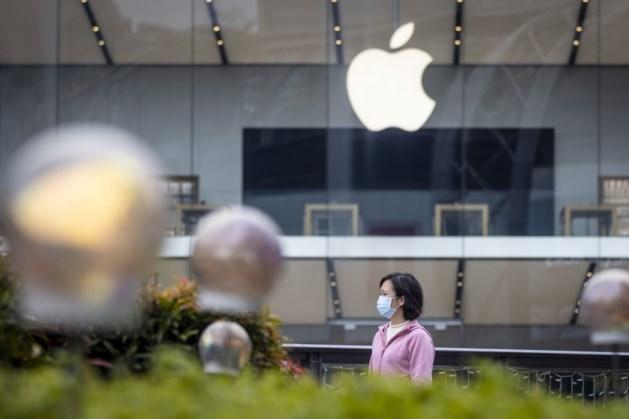 Apple geeft omzetwaarschuwing vanwege impact coronavirus