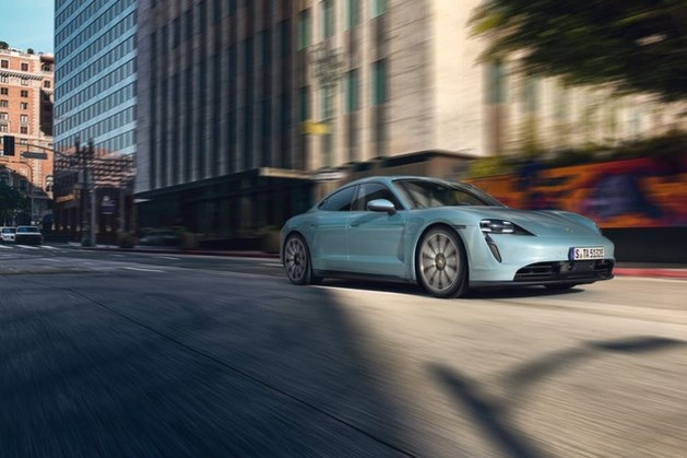 Ook de elektrische Porsche lijkt spontaan in brand te kunnen vliegen