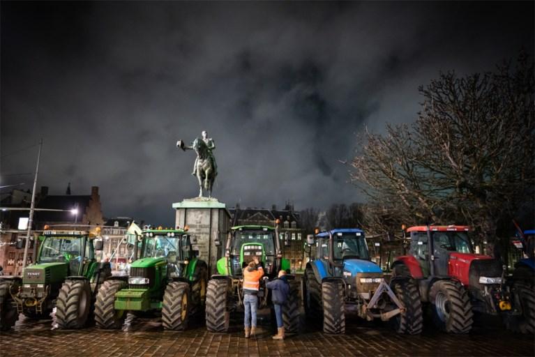 Boeren toch via snelweg naar Den Haag, legertrucks paraat in centrum