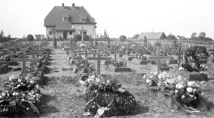 Duitsers en geallieerden gemengd begraven in Venlo