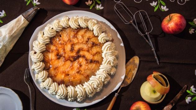 Recept: Limburg op z'n kop met appelvlaai andersom