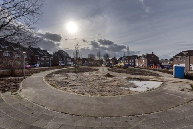 Olmenplein in Chevremont op de schop, materialen verhuizen naar nieuw transferium bij Hopel