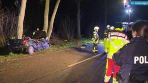 Video: Twee doden bij ernstig verkeersongeluk in grensregio