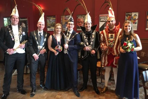 Prinsenparen aanwezig bij sleuteloverdracht Voerendaal