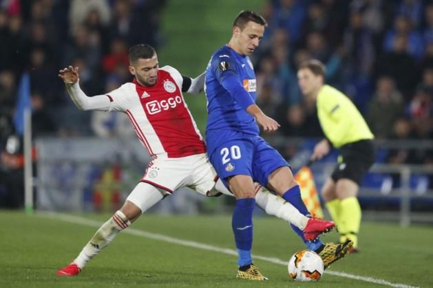 Ajax verliest eerste duel met Getafe