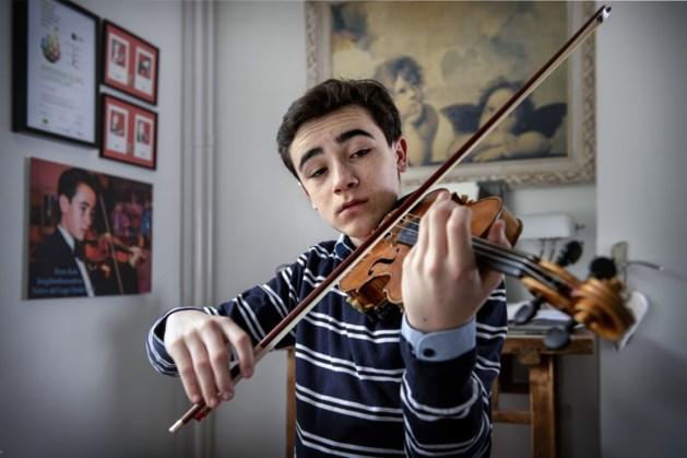 Kerkraads viooltalent Enzo Kok gaat optreden in Verenigde Staten en Canada