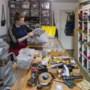 Olivia Bertus ontwerpt patronen voor behang, kussens of tassen