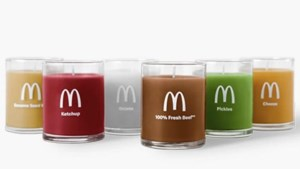 McDonald's brengt kaars met 'Quarter Pounder'-geur op de markt