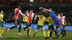 Fortuna maakt het Feyenoord lastig, maar blijft met lege handen achter