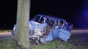 Automobilist ernstig gewond na botsing tegen boom