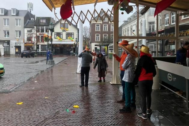 Het houdt niet op: ook carnavalsmaandag regen en wind