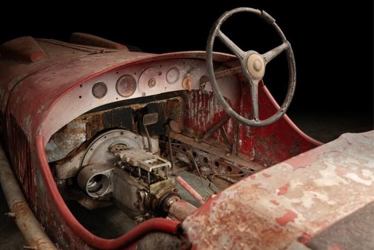 Racewagen van Mussolini teruggevonden in Afrika