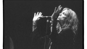 Eerbetoon aan Patti Smith, de moeder van de punkrock