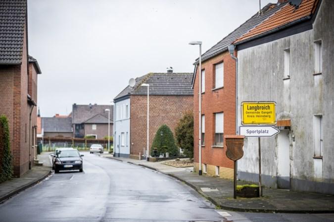 In Duitse grensplaats Langbroich is niets te merken van corona