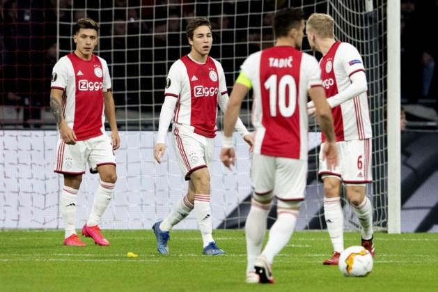Ajax na nipte zege uitgeschakeld in Europa