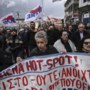 Weer protesten Lesbos om kampen migranten