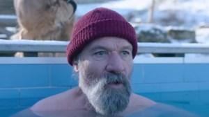 Wim 'the Iceman' Hof uit Sittard in clip Britse inzending songfestival