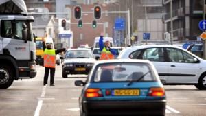 Tijdelijke verkeerslichten centrum Sittard