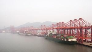 Fors minder containerschepen uit China door coronavirus