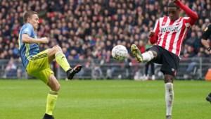 PSV tegen Feyenoord levert geen winnaar op: 1-1