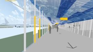 Eindhoven Airport gaat verbouwen: reizigers kunnen straks 'droog' naar het vliegtuig lopen