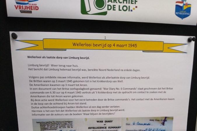 Wellerlooi als allerlaatste dorp van Limburg bevrijd