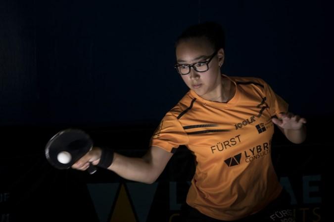 Tafeltennisster hield hoofd koel na kop-staartbotsing en werd Nederlands kampioen