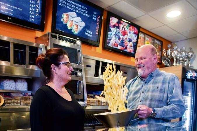 Roger Gielen uit Geleen is verslaafd aan friet, vet en fastfood